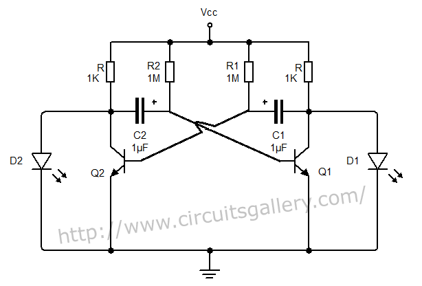 astable oscillator circuit page 2   oscillator circuits