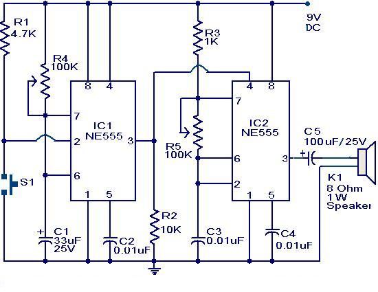 Doorbell%252Bcircuit%252Busing%252BNE555%252BIC circuits \u003e doorbell circuit using ne555 ic l23457 next gr Doorbell Wiring-Diagram Two Chimes at mifinder.co