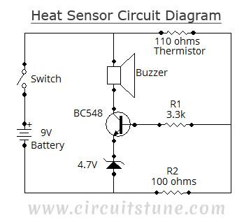 Heat Sensor - schematic