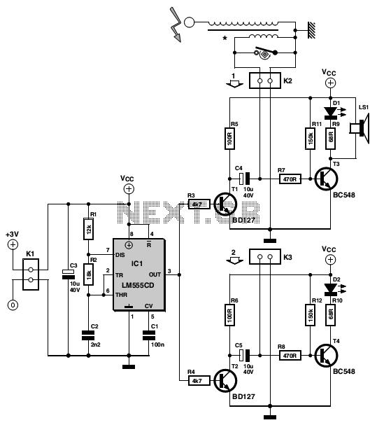 u0026gt  circuits  u0026gt  simple ignition timer schematic l32660