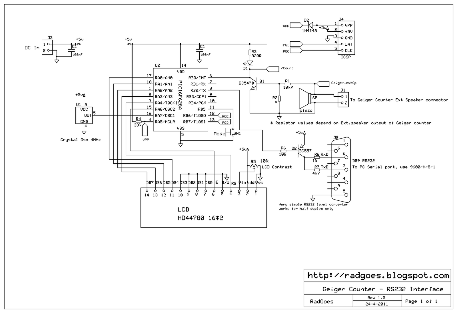 New Circuits Page 20 Turn On A Dc Computer Fan Using Solidstate Relay Mydaq And Schematic Diagram Of My Geiger Counter