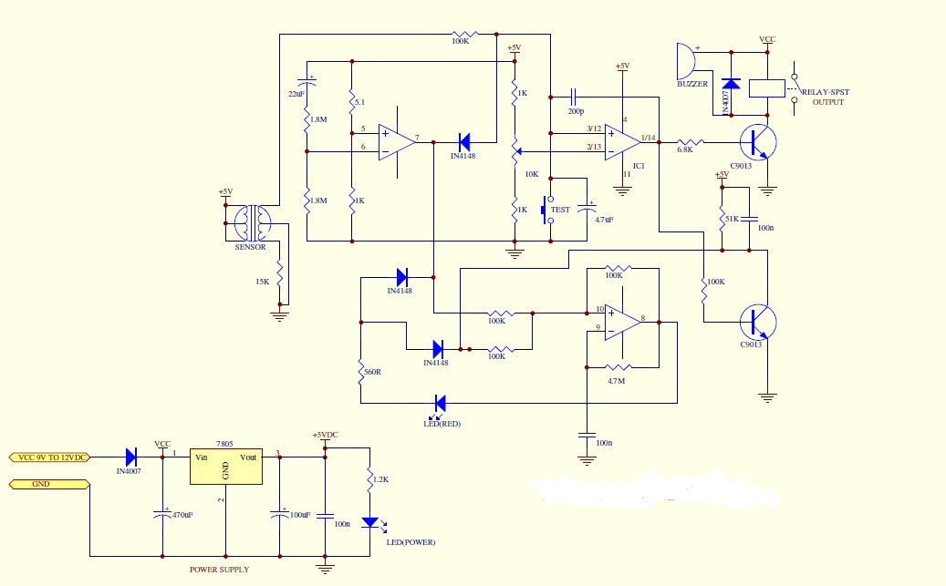 Schematic%2Bdiagram results page 9, about 'gh 312 gas sensor' searching circuits at  at crackthecode.co