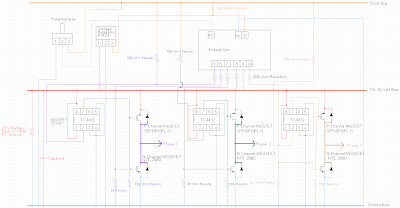 Three Phase 6 Pulse Inverter - schematic