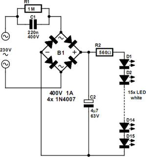 Circuit Diagram Of 5w Led Bulb