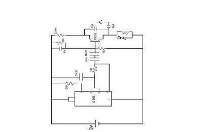A SIMPLE FM JAMMER CIRCUIT - schematic