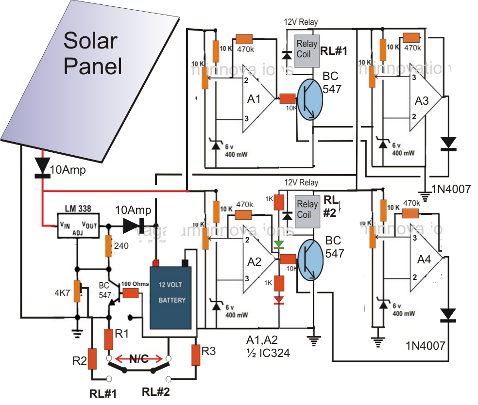 Solar Cell Circuit Page 7 Power Supply Circuits Next Gr