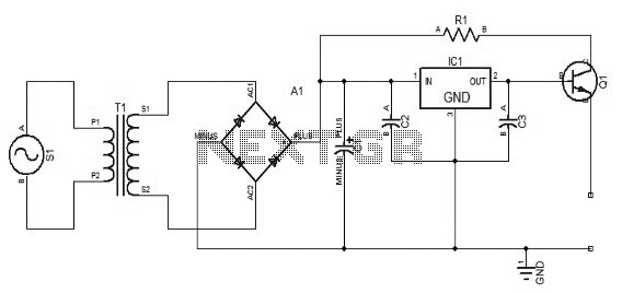 Simple Power Supply circuit