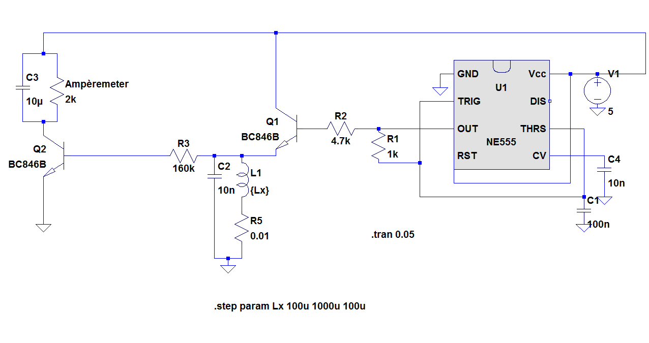 Results Page 99 About One Transistor Preamp Searching Circuits Doorbell With Ic555 Inductivity Meter Using Ic 555