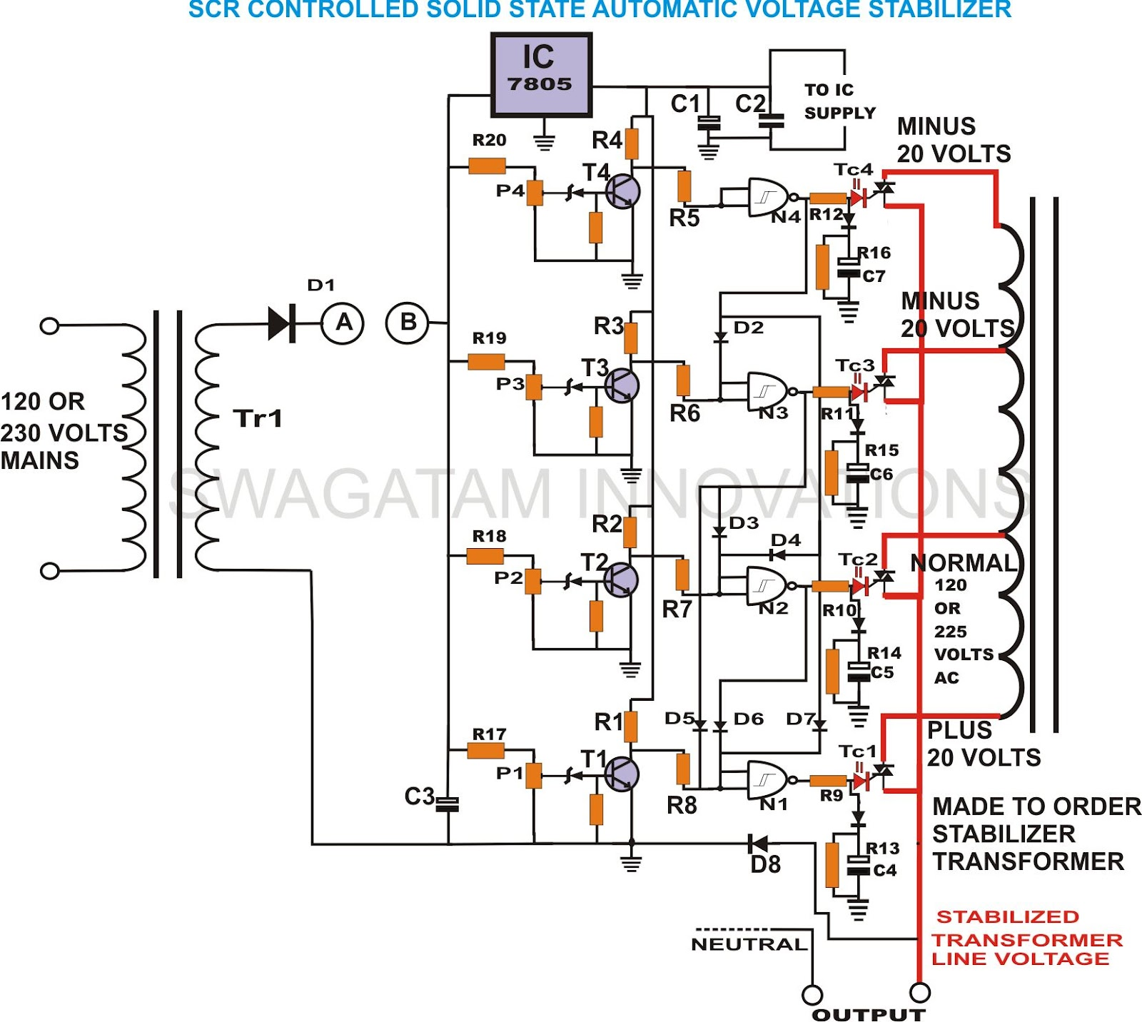 build solid state scrtriac controlled - schematic