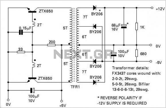 Inverter Circuits - schematic
