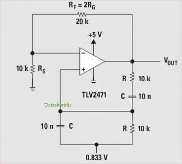 Design Of Op Amp Sine Wave Oscillators - schematic