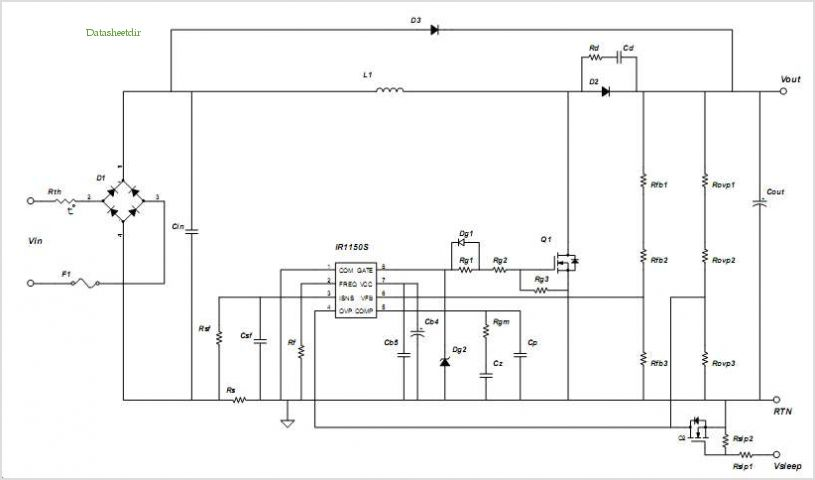 Pfc Converter Design With Ir1150 One Cycle Control Ic