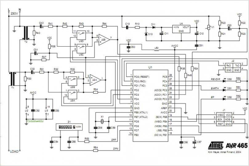 u0026gt  circuits  u0026gt  single phase energy meter circuit diagram