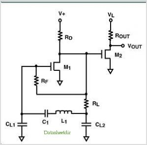 Ultra Low Voltage Nanopower Lc (colpitts) Oscillator Circuit - schematic