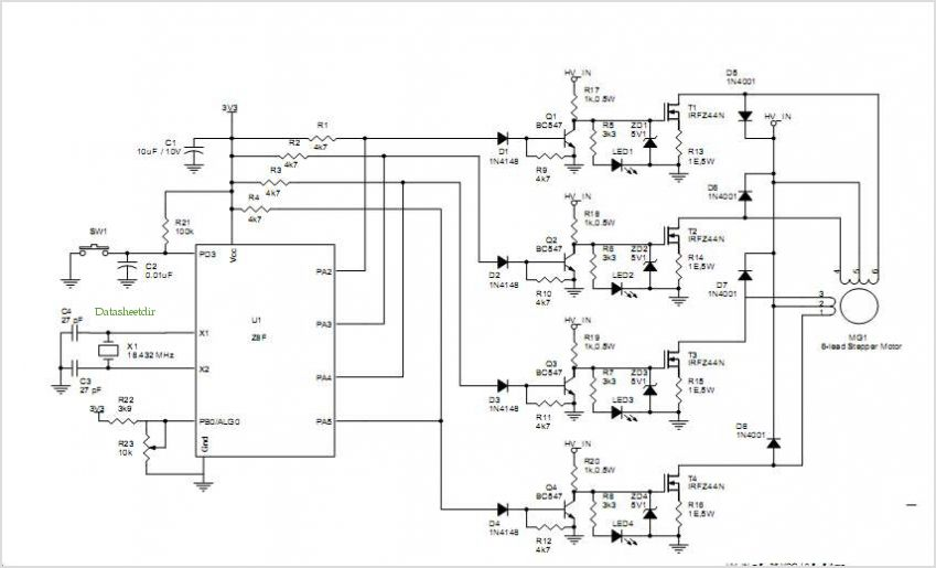 Stepper Motor Circuit Page 4 Automation Circuits Next Gr