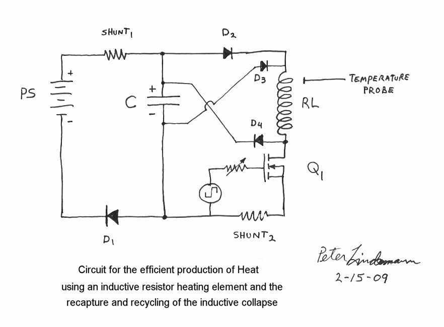 power supplies > Free Energy Circuits > free heater circuit by ...