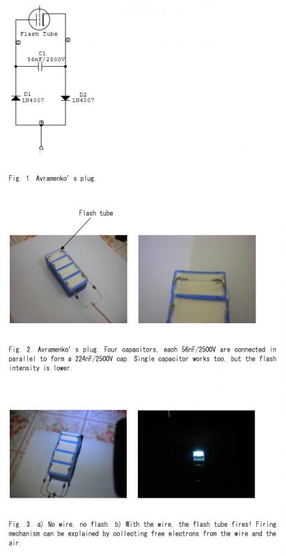 Avramenko's Plug - schematic