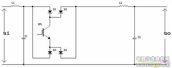 Smart sinewave dimmer - schematic