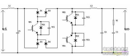 working principle of sine wave dimmers - schematic