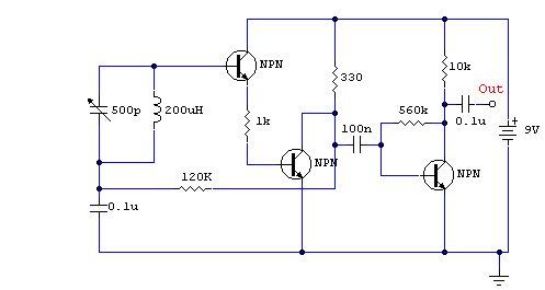 AM Receivers - schematic