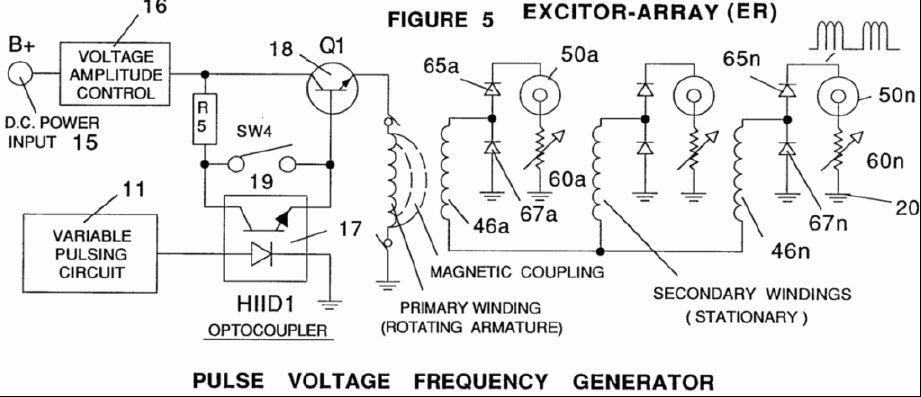 Gas Generator Voltage Control Circuit - schematic
