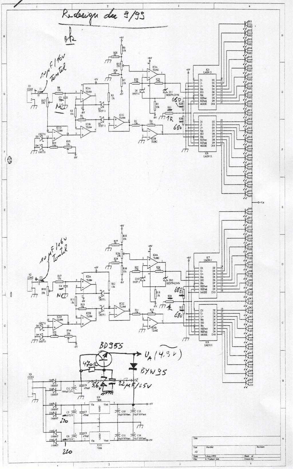 push pull tube amplifer - schematic
