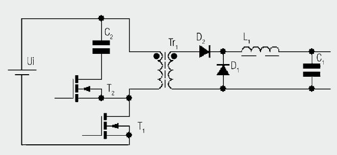 The Forward Converter - schematic