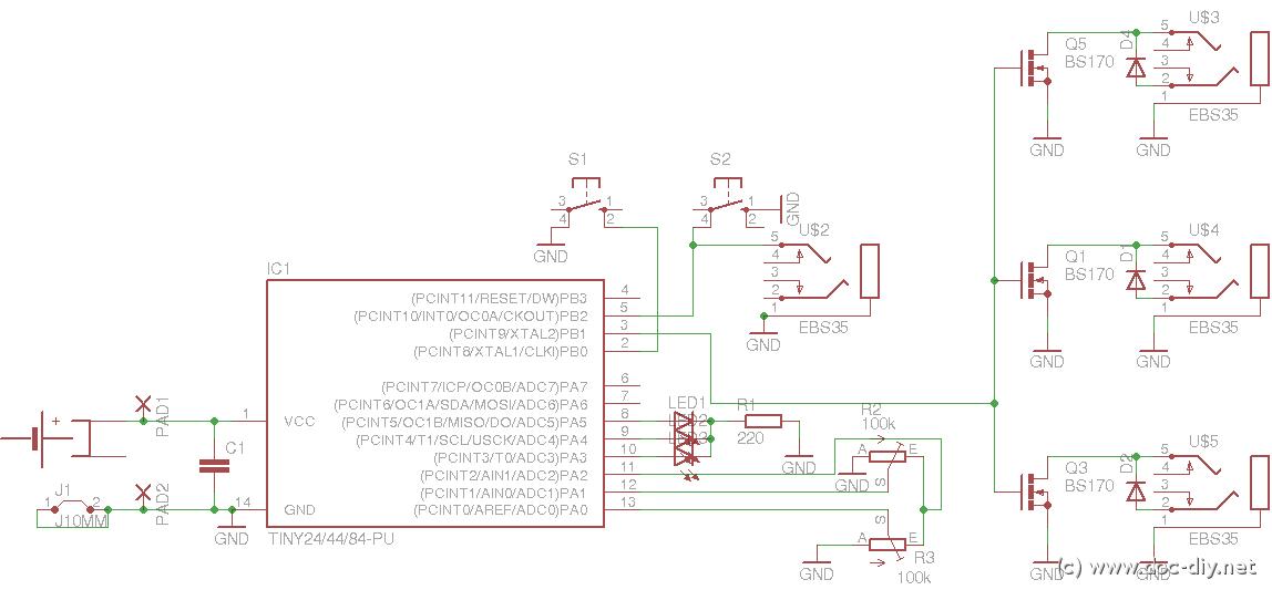 delay - schematic