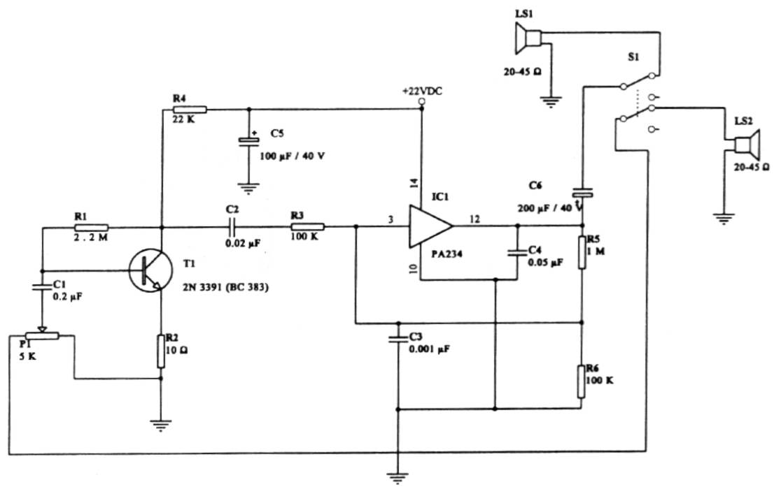 intercom_chm intercom circuit page 2 telephone circuits next gr Basic Motorcycle Wiring Diagram at virtualis.co