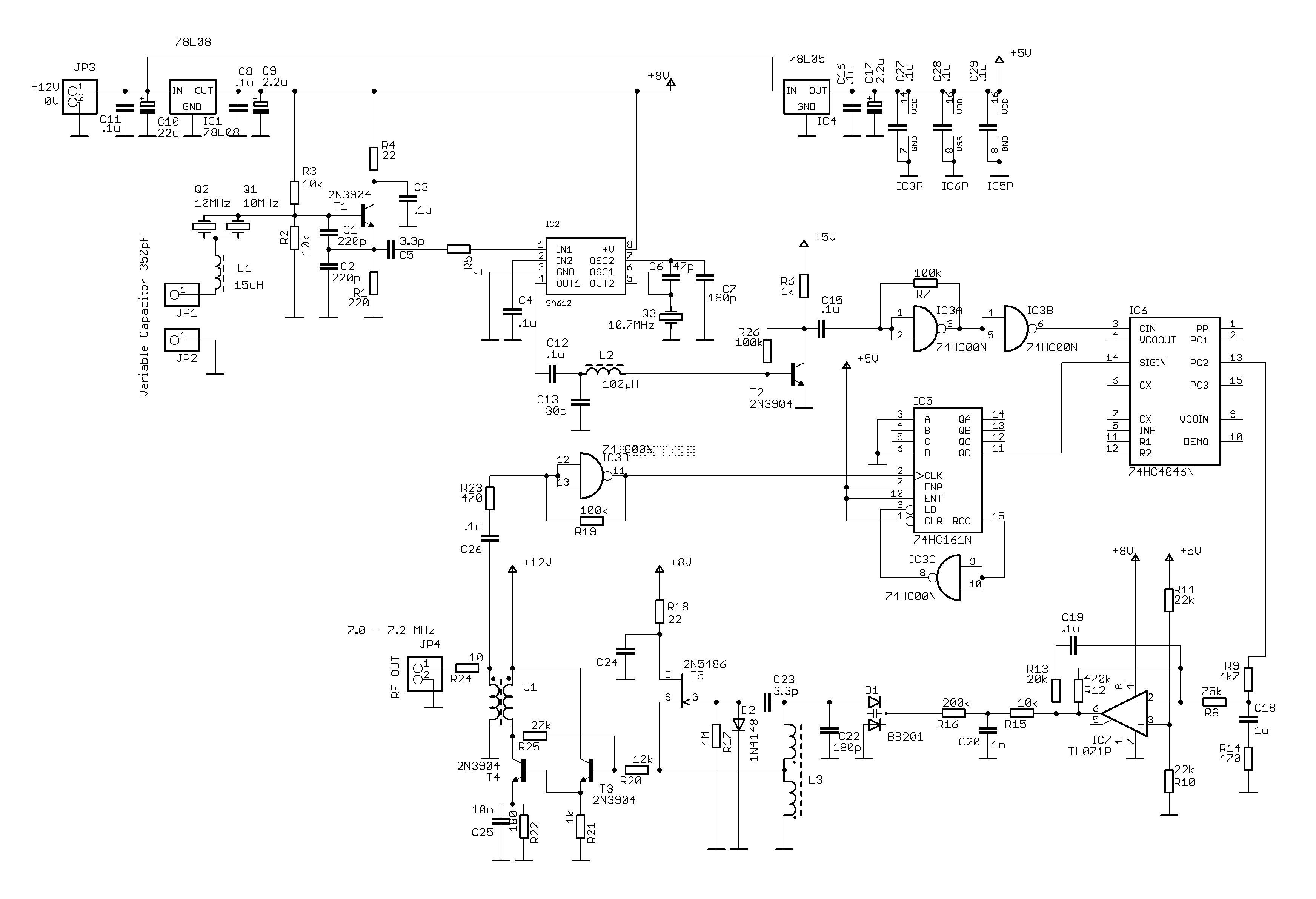 Equalizer Circuit Page 4 Audio Circuits Next Gr Auto Electrical Ba3822 Stereo Graphic Diagram