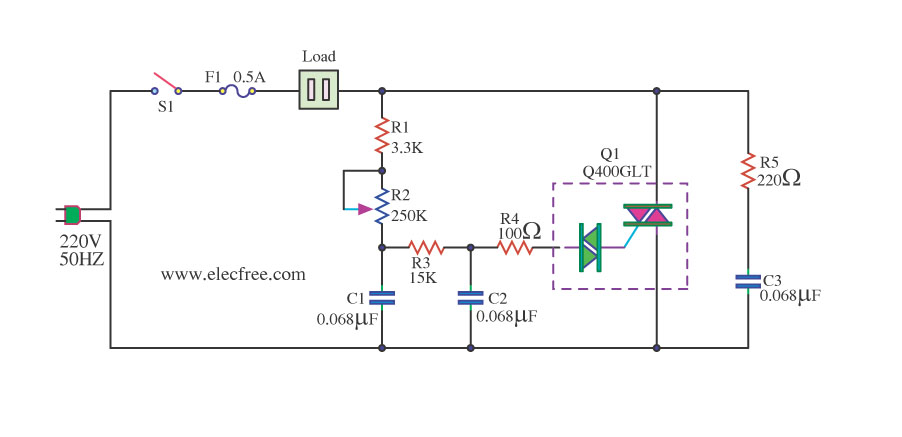 phase controlled dimmer circuit diagram circuits diagram labbasic triac control circuit that uses an sbs circuit diagram phase controlled dimmer circuit diagram circuits diagram lab