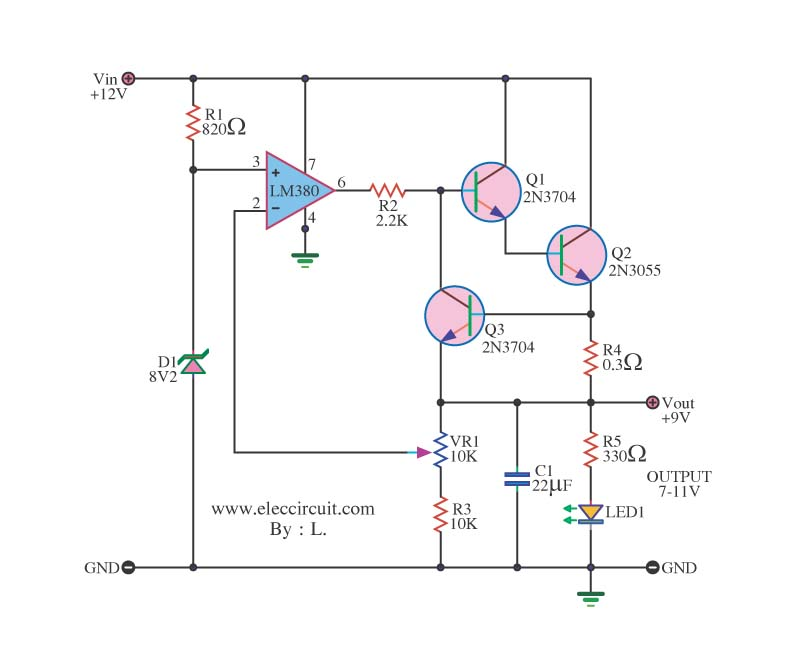 how to connect a dc motor to a 9v battery