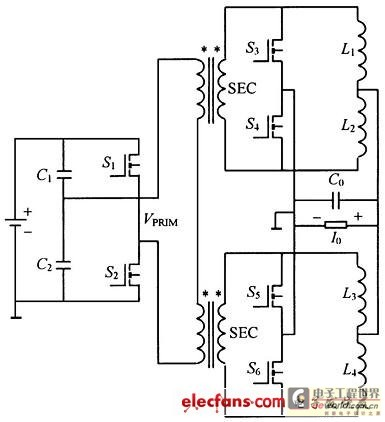Interlock and connect DC DC converter scheme in parallel