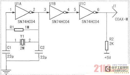 Make AVR one-chip computer unlocking device by oneself - schematic