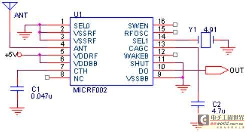 Duplexing wireless series transmission scheme of the one-chip computer
