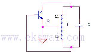 Hartley Oscillator Calculator - schematic