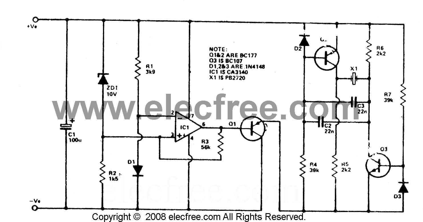 Alarm Circuit Page 9 Security Circuits Fire Are Presented Here But This Time A New Car Battery