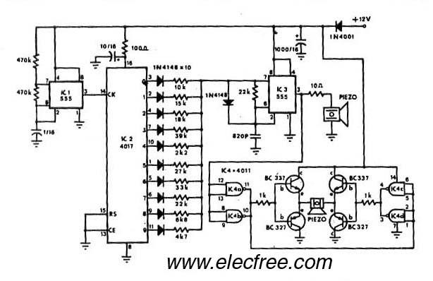 u0026gt  circuits  u0026gt  mosquito repellant by ic 555 4017 4011 l40862