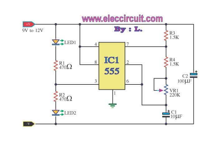 v led flasher circuit diagram v image wiring 12 volt led flasher circuit diagram wiring diagrams on 12v led flasher circuit diagram