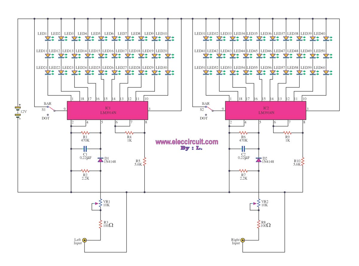 Lm3915 Circuit Schematics Circuits In 2018 T Diagram List Page 772 Hqewnet
