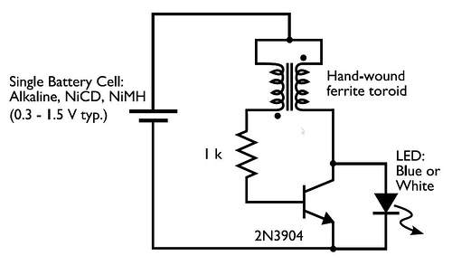 low volt led flasher schematics