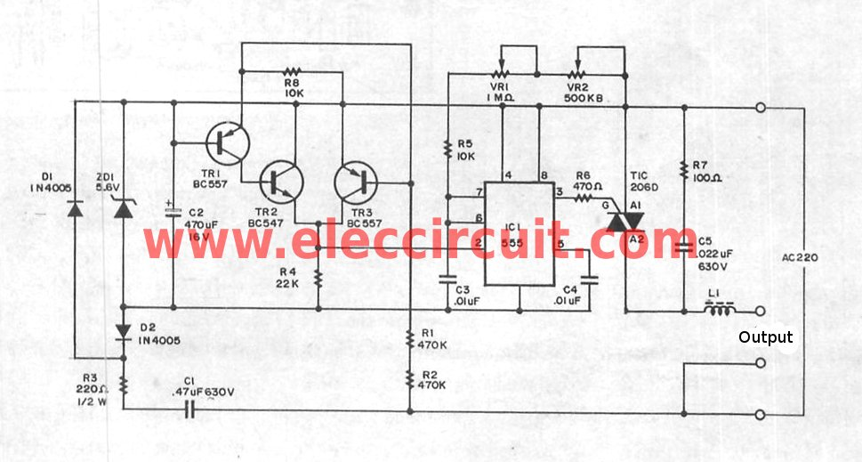 Light Dimmer Circuit Page 2 Light Laser Led Circuits
