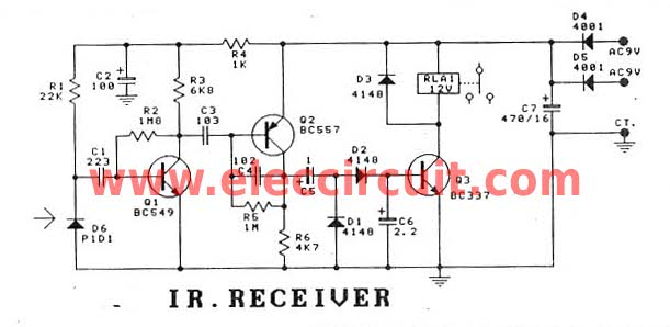 Admirable Infrared Circuit Page 7 Light Laser Led Circuits Next Gr Wiring 101 Vieworaxxcnl