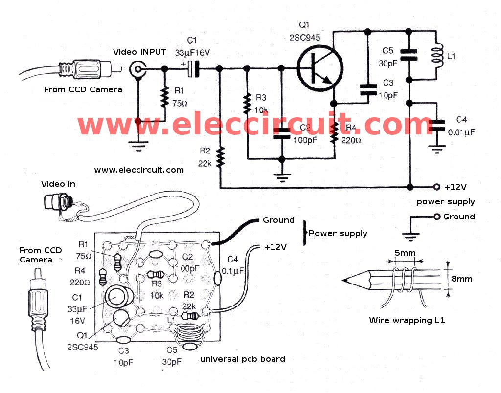 Ccd Camera Wiring Diagram on rv electrical wiring diagram