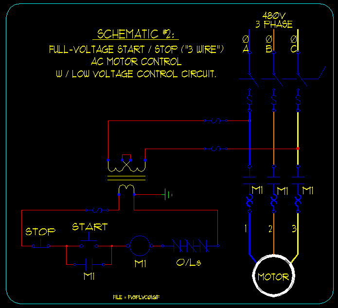 Wiring Diagram Also Motor Starter Wiring Diagram On Stop With Timer