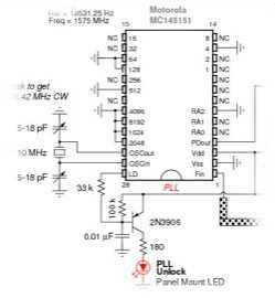 DIY GPS Jammer - schematic