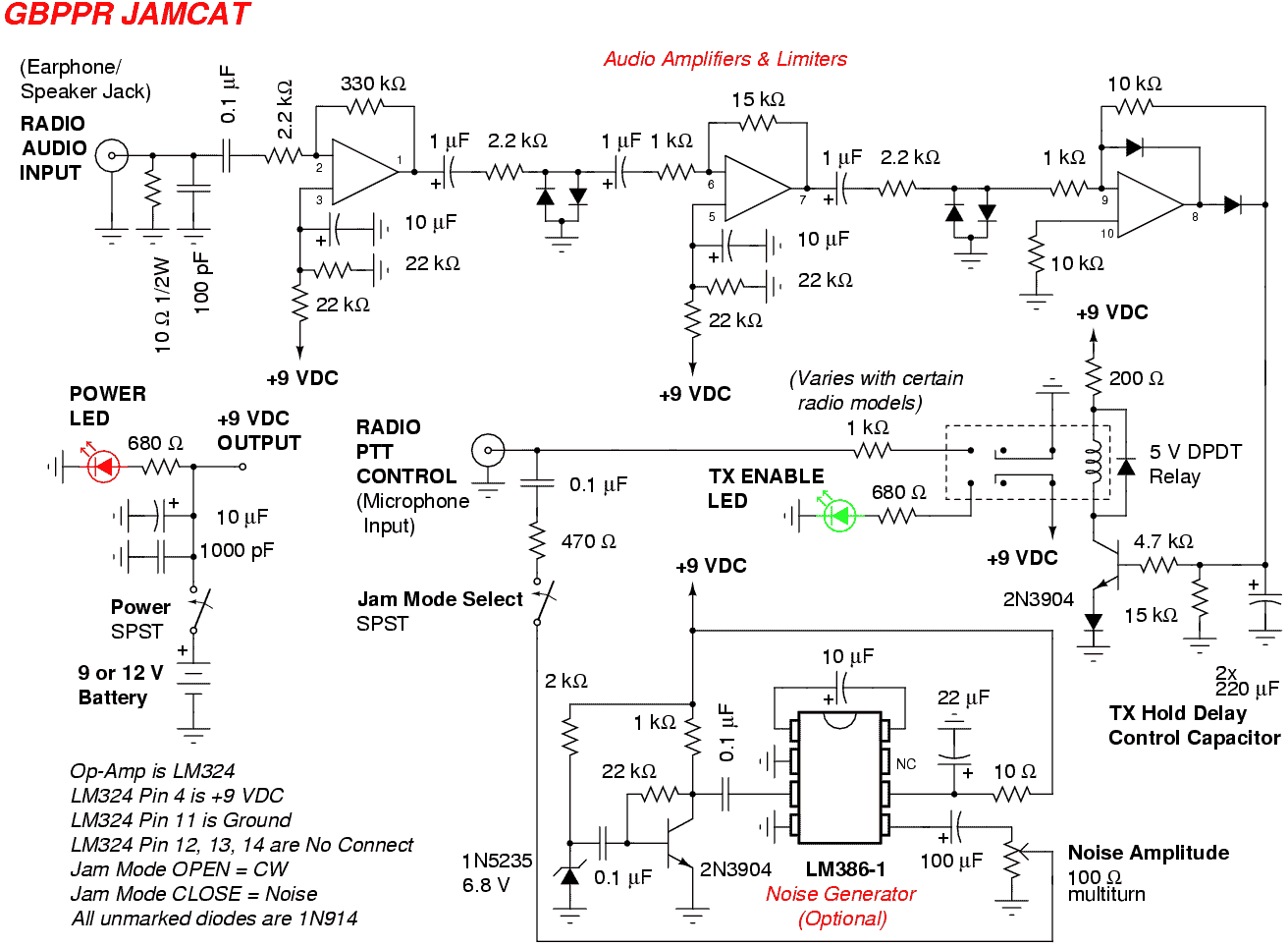 A Perfect Jammer - schematic