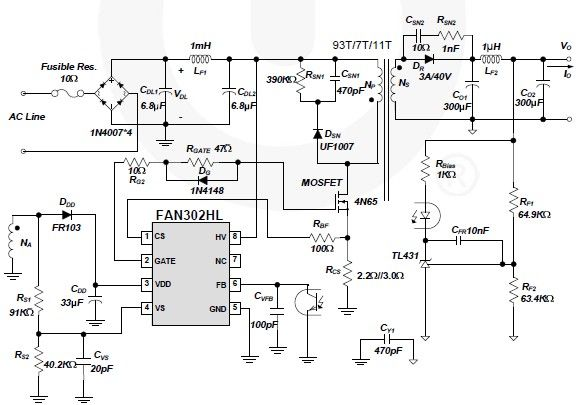switching power supply page 2 power supply circuits next gr Simple AM Transmitter Diagram powerful am transmitter circuit diagram