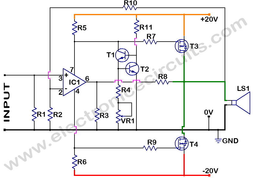 mosfet amplifier circuit diagram ireleast info mosfet amplifier circuit diagram nest wiring diagram wiring circuit