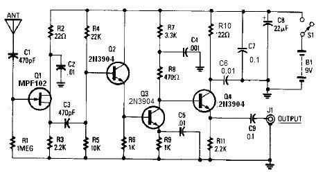 Satellite Tv Antenna Circuit Diagram on best gps receiver
